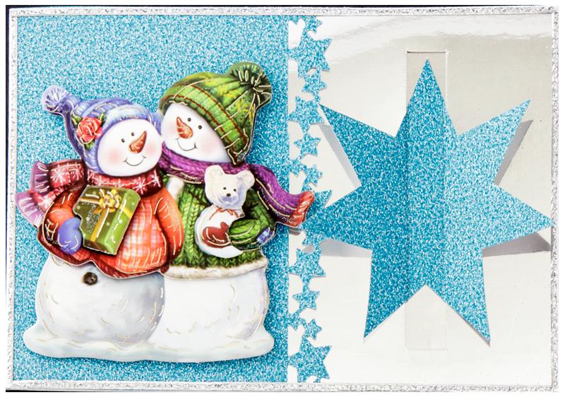 bastelidee weihnachtskarte mit schablone ideen mit herz. Black Bedroom Furniture Sets. Home Design Ideas