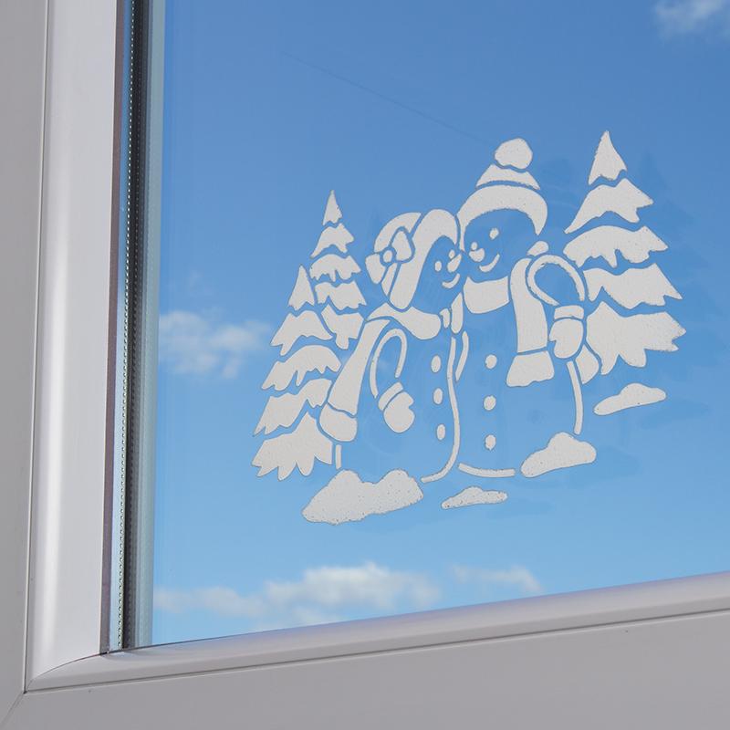 Anleitung: Fenstergestaltung mit Kreidefix