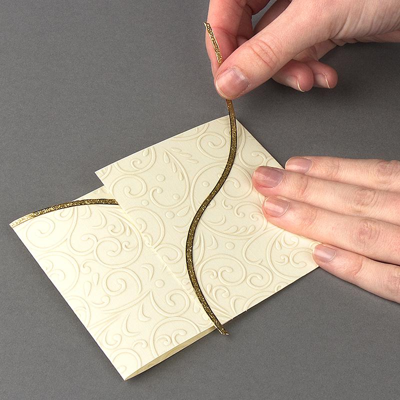 bastelidee karte mit magnet verschluss ideen mit herz. Black Bedroom Furniture Sets. Home Design Ideas