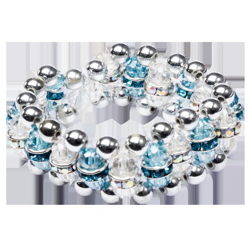 Perlen-Fädelanleitung: Armband