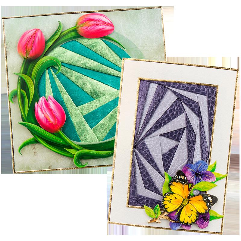 Anleitung: Falt-Mosaik & Iris-Faltung