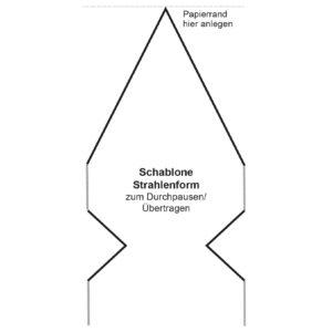 anleitung venus stern aus transparentpapier ideen mit herz. Black Bedroom Furniture Sets. Home Design Ideas