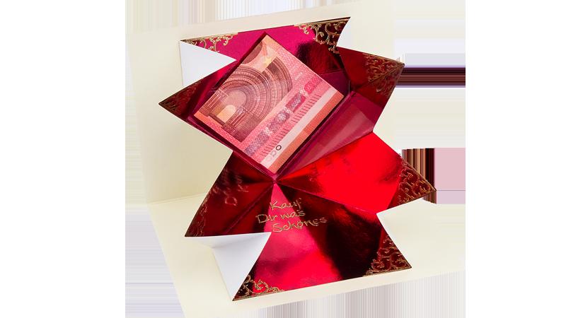 Anleitung: Pop-Up-Innentasche für Grußkarten