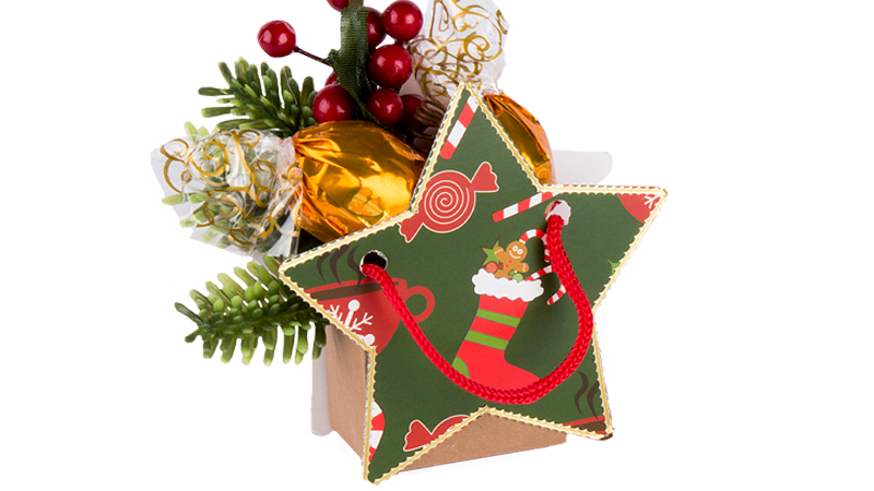 Bastelidee: Kleine Geschenktäschchen