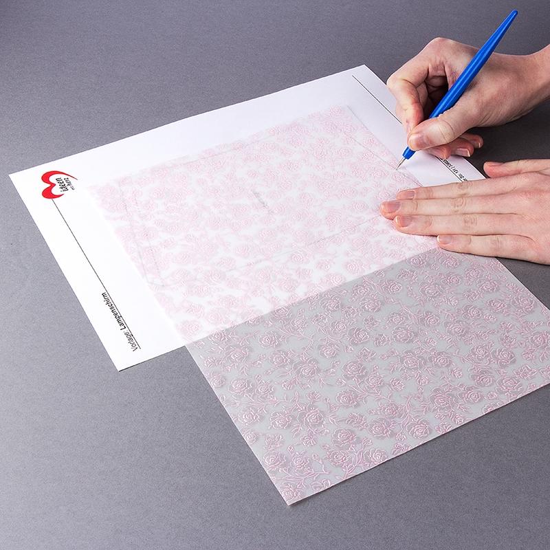 Anleitung Lampenschirm Aus Transparentpapier Ideen Mit Herz
