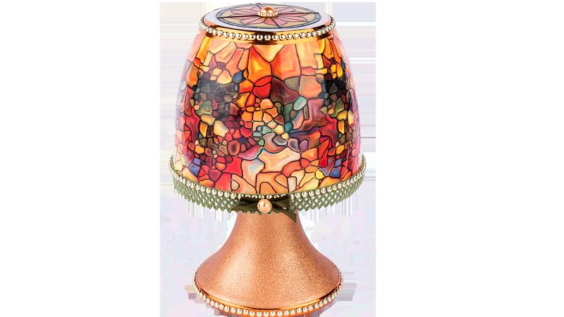 Anleitung: Lampe mit Zauberfolie