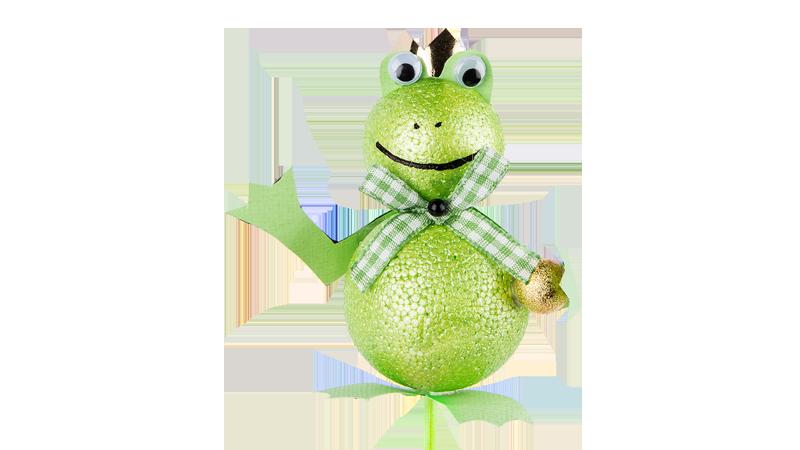 Anleitung: Froschkönig aus Styropor