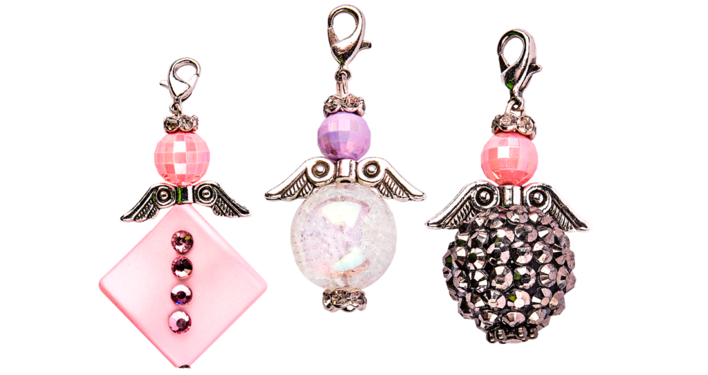 Anleitung: Perlen-Engel gestalten