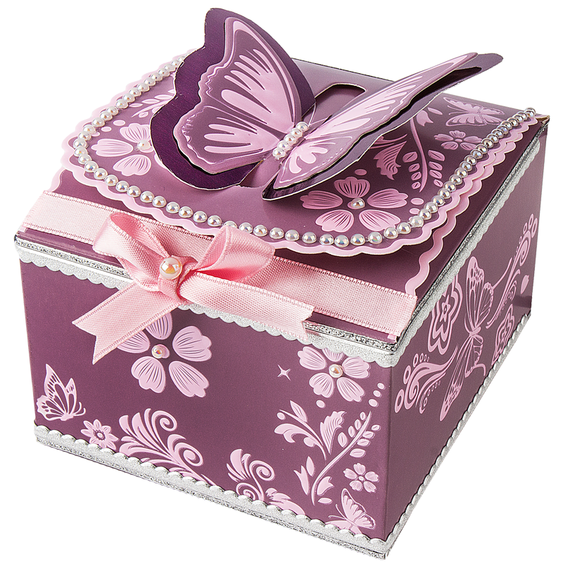 Beliebt Hübsche Geschenkboxen basteln & fantasievoll dekorieren - Ideen LN58
