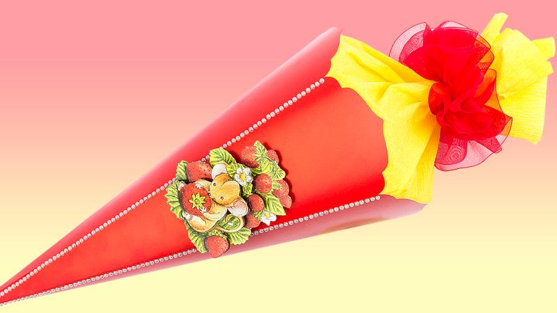 Anleitung: Schultüten/Zuckertüten für jeden Anlass