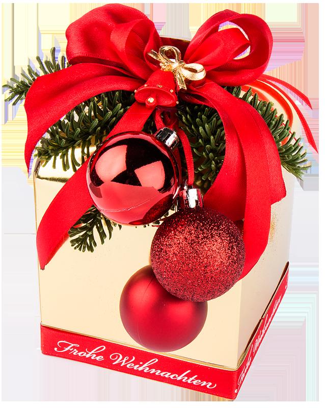 Bastelidee: Weihnachts-Geschenkbox | Ideen mit Herz