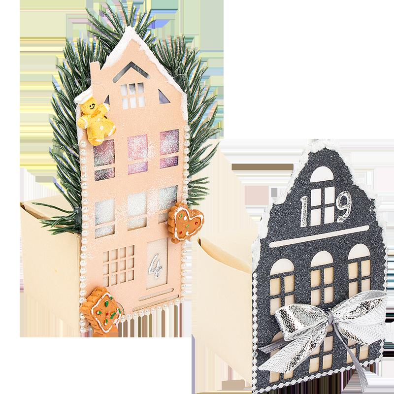 Vogelhauschen Oder Sparhaus Bastelfrau Haus