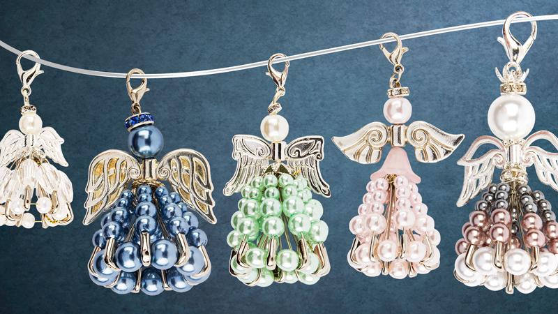 Anleitung: Perlen-Engel mit Sicherheitsnadeln