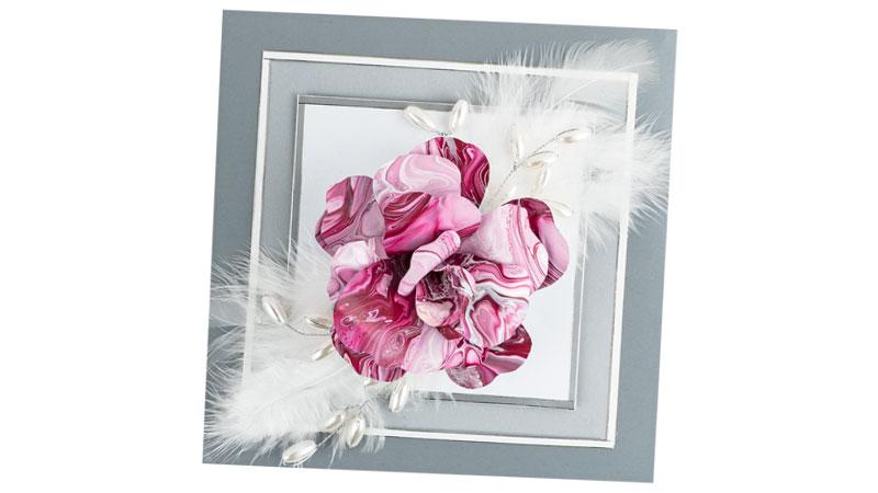 Anleitung: 3-D Blume