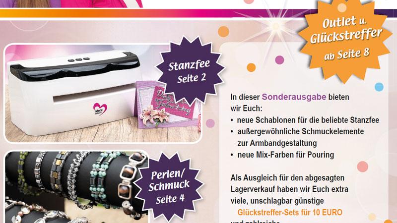 Sonder-Bastelnews Mai 2020