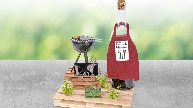 Bastelidee: Mini-Grillstation