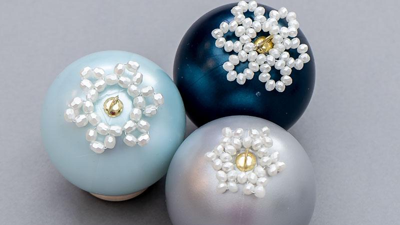 Anleitung: Perlen-Blüte